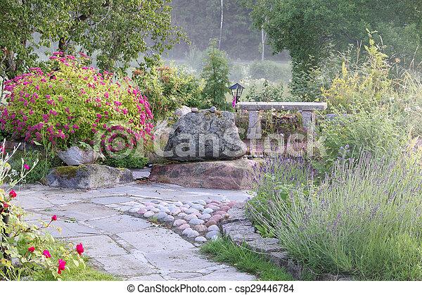 Beautiful garden - csp29446784