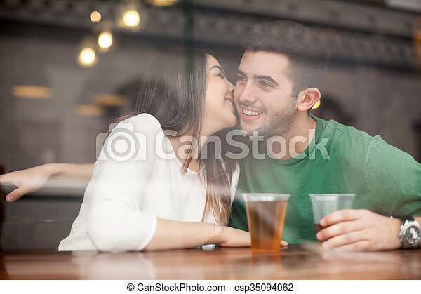 Think, that girls making out at bar turns