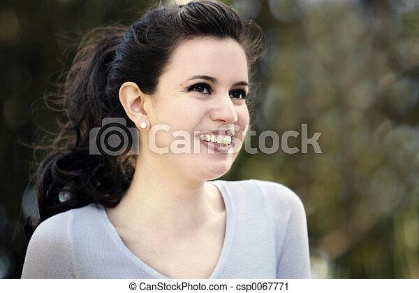 Beautiful girl - csp0067771