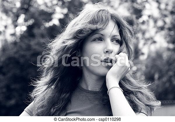 Beautiful girl - csp0110298