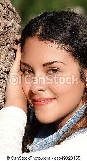 Beautiful Girl - csp49028155