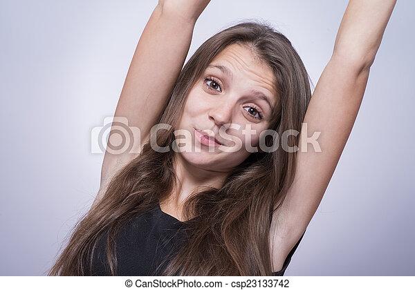 Beautiful Girl - csp23133742