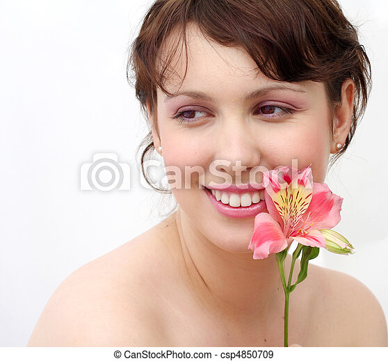 beautiful girl - csp4850709