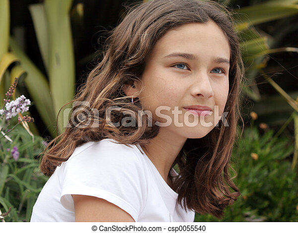 Beautiful girl - csp0055540