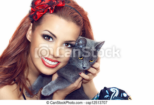 Beautiful girl - csp12513707