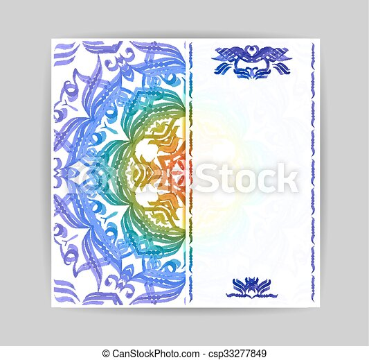 Beautiful Greeting Card Or Background For Design Invitation With Lace And Floral Ornaments Beautiful Luxury Postcard Old Paper Ornate Page Cover