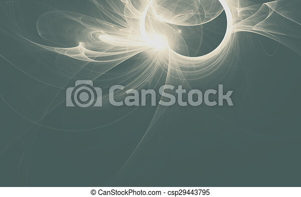 beautiful grey abstract fractal background - csp29443795
