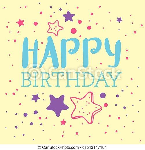 Beautiful happy birthday invitation cards vector beautiful birthday beautiful happy birthday invitation cards vector stopboris Images
