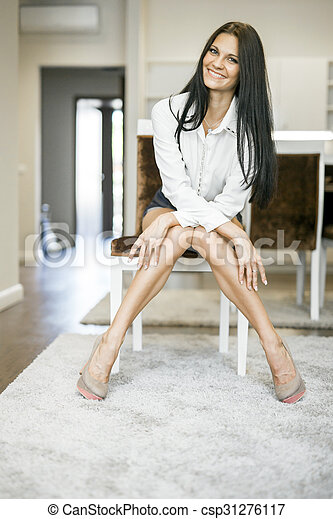 Beautiful girls with long legs for