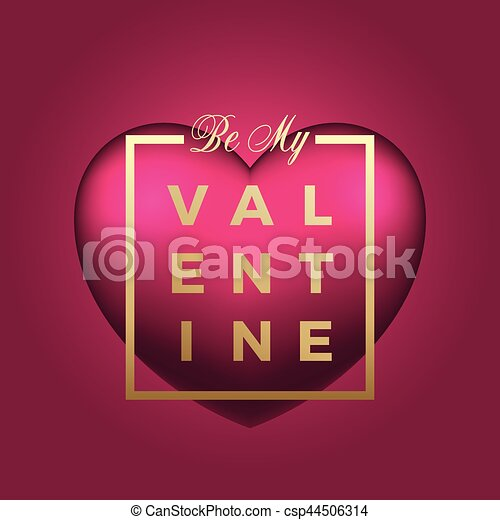 Beautiful heart vector on pink background golden modern typography beautiful heart vector on pink background golden modern typography valentines day greetings in a frame classy card or poster m4hsunfo
