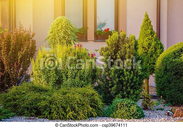 Beautiful Home Garden - csp39674111