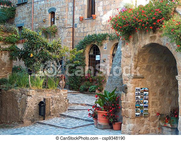 Beautiful Homes In Italian Town
