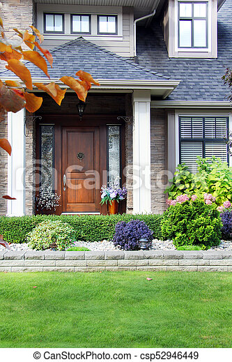 beautiful house front images