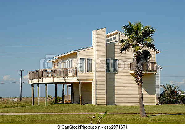 Beautiful house in the southern United States - csp2371671