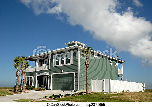 Beautiful house in the southern United States - csp2371655