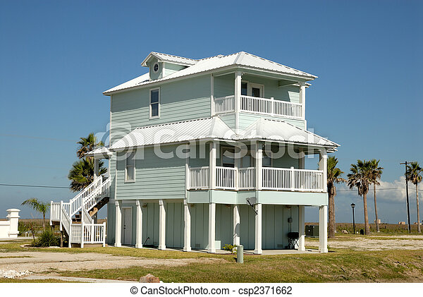 Beautiful house in the southern United States - csp2371662