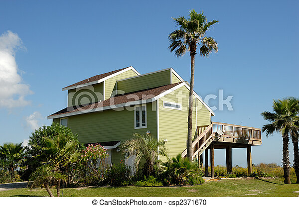 Beautiful house in the southern United States - csp2371670
