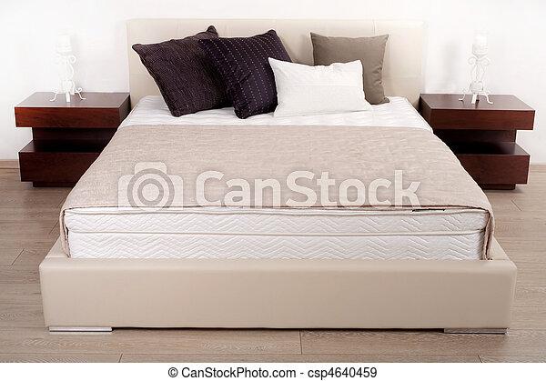 Beautiful interior of a modern bedroom - csp4640459