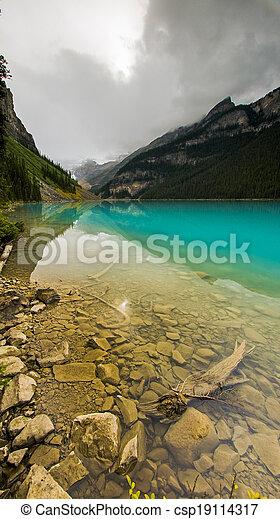 Beautiful Lake Louise - csp19114317