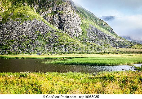 Beautiful landscape of Norway, Scandinavia - csp19955985