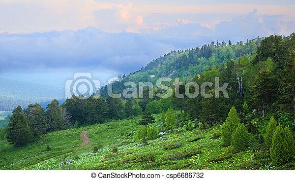 Beautiful landscape - csp6686732