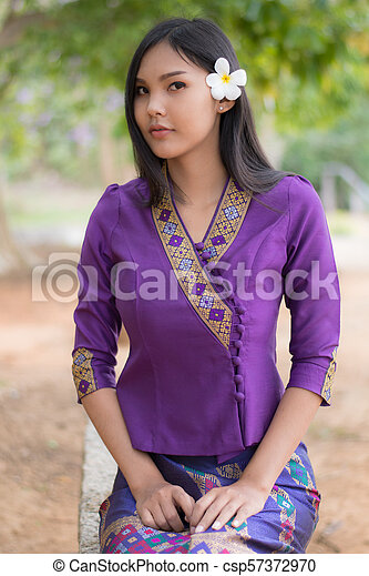 Girl laos