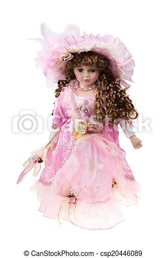 Beautiful large plastic doll - csp20446089