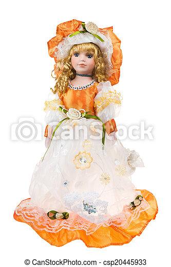 Beautiful large plastic doll - csp20445933
