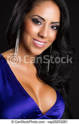 Beautiful Latin American Woman - csp29253281