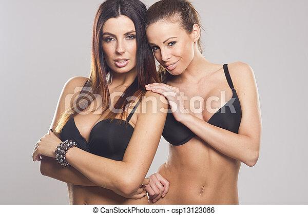 Woman seduced into lesbian sex
