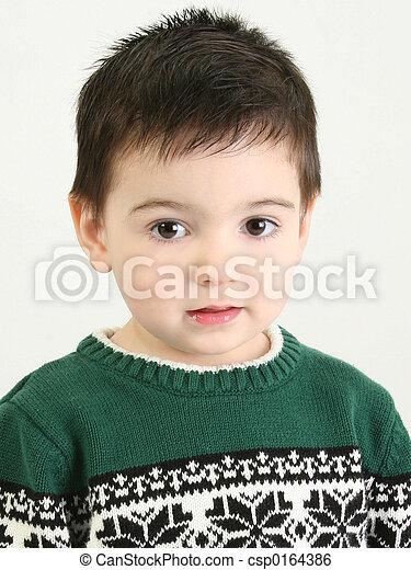 Beautiful Little Boy - csp0164386