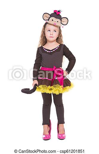 Beautiful little girl - csp61201851