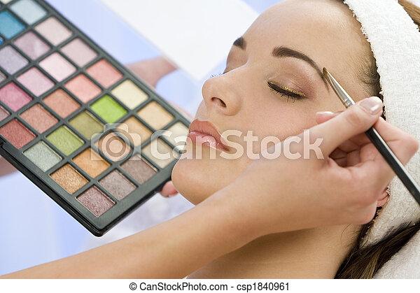 Beautiful Make Up - csp1840961