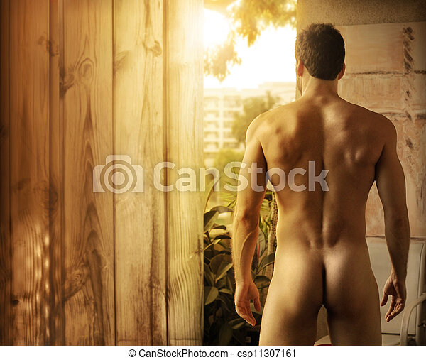 Beautiful male body - csp11307161