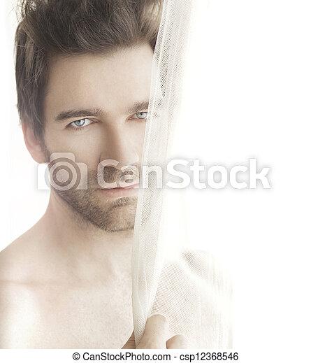 Beautiful man - csp12368546