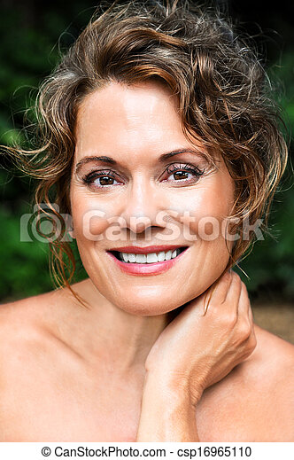 Beautiful Mature Woman - csp16965110