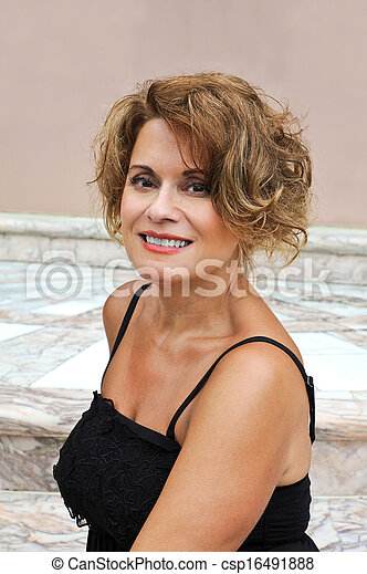 Beautiful Mature Woman - csp16491888