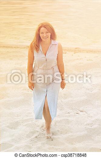 Beautiful mature woman - csp38718848