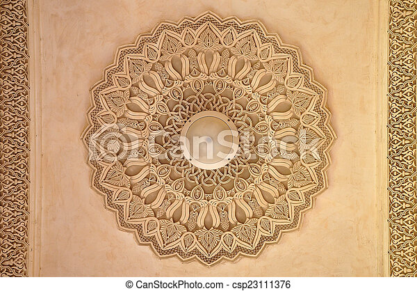 Beautiful Moroccan Architecture. - csp23111376