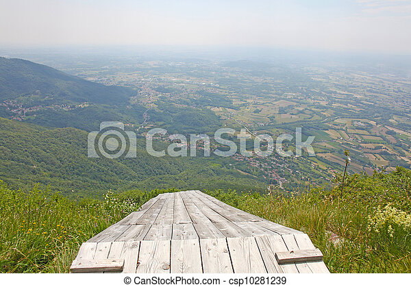 Beautiful mountains - landscape taken in Julian Alps, Italy - csp10281239