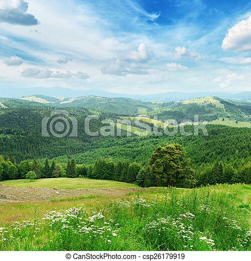 Beautiful mountains - csp26179919