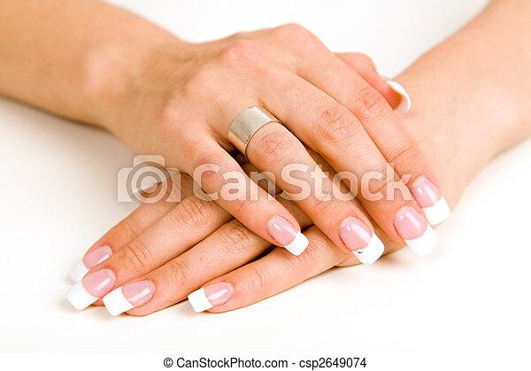 beautiful nails - csp2649074