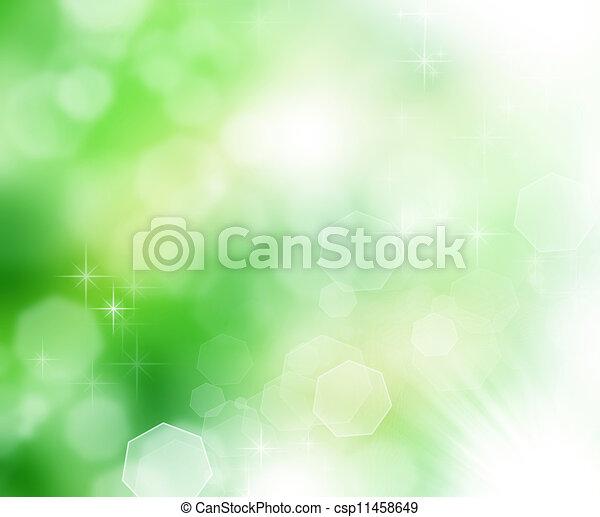 Beautiful Nature Bokeh  - csp11458649