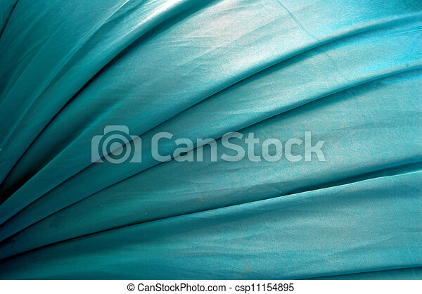 beautiful of blue satin background - csp11154895