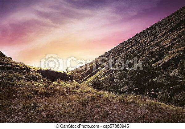 Beautiful of sunset view - csp57880945