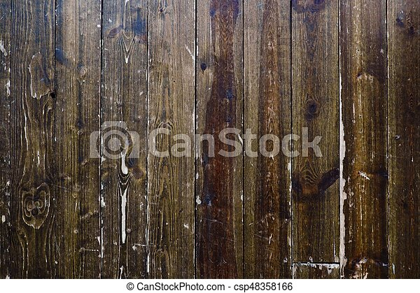 Beautiful old wooden brown background - csp48358166