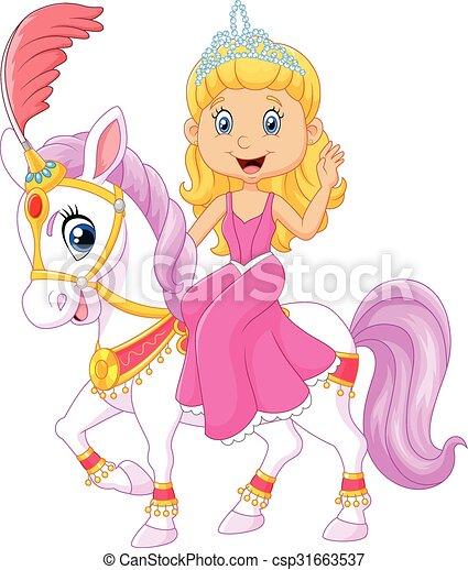 Beautiful princess with circus - csp31663537
