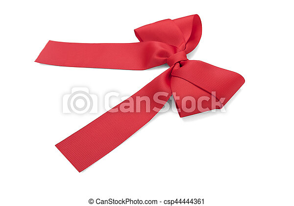 Beautiful red bow. - csp44444361