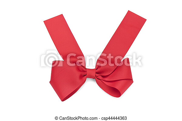 Beautiful red bow. - csp44444363