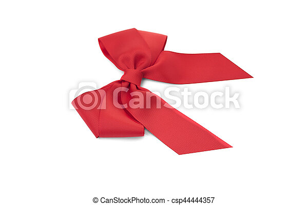 Beautiful red bow. - csp44444357